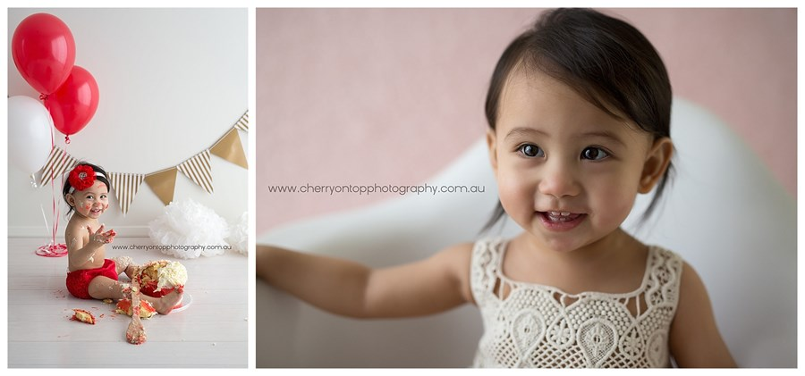 Caitlyn | Cake Smash Photography Sydney