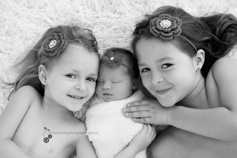 Three happy sisters