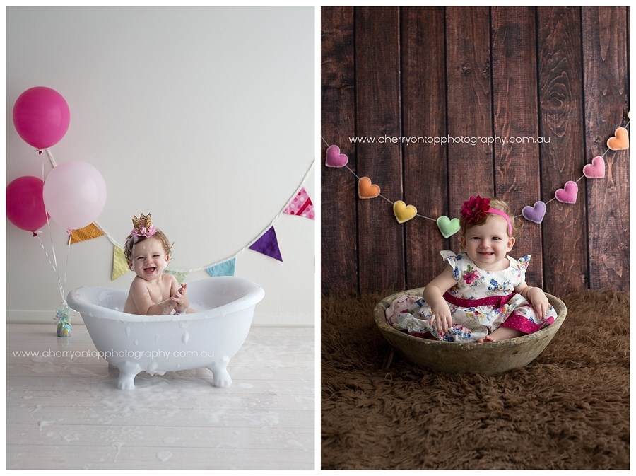 Annabelle | Hills Cake Smash Photography