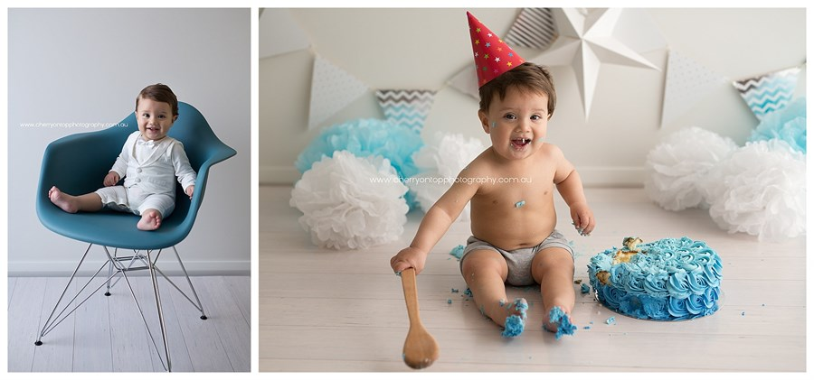 Elias | Cake Smash Photography