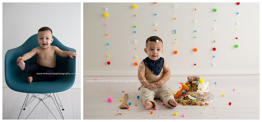 Paolo | Cake Smash Photography Sydney