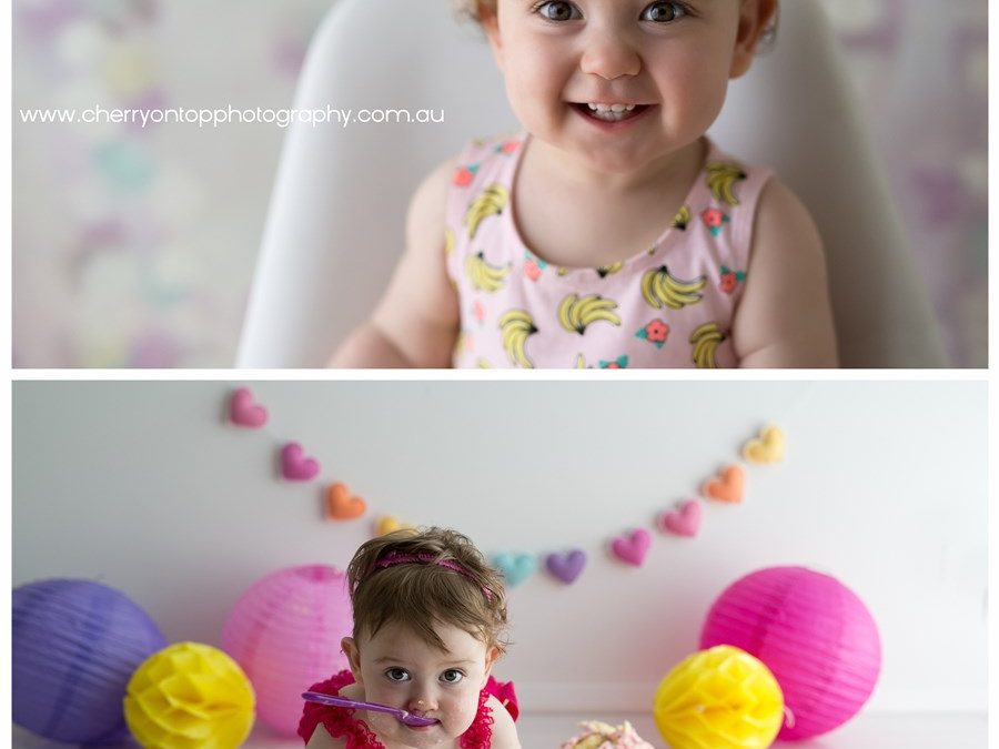 Olivia | Cake Smash Photography
