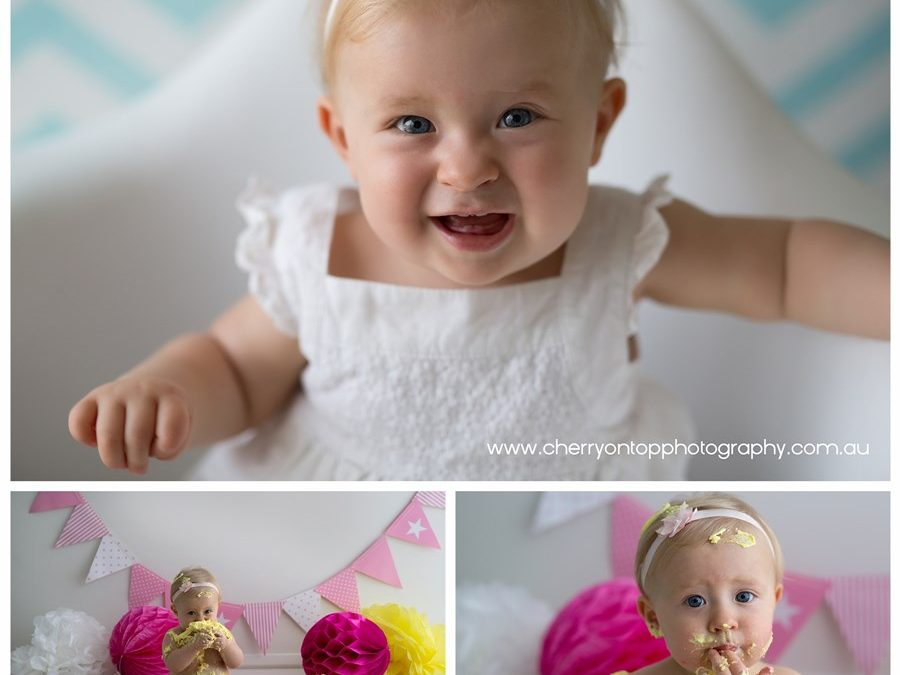 Abbey | Cake Smash Photography Sydney