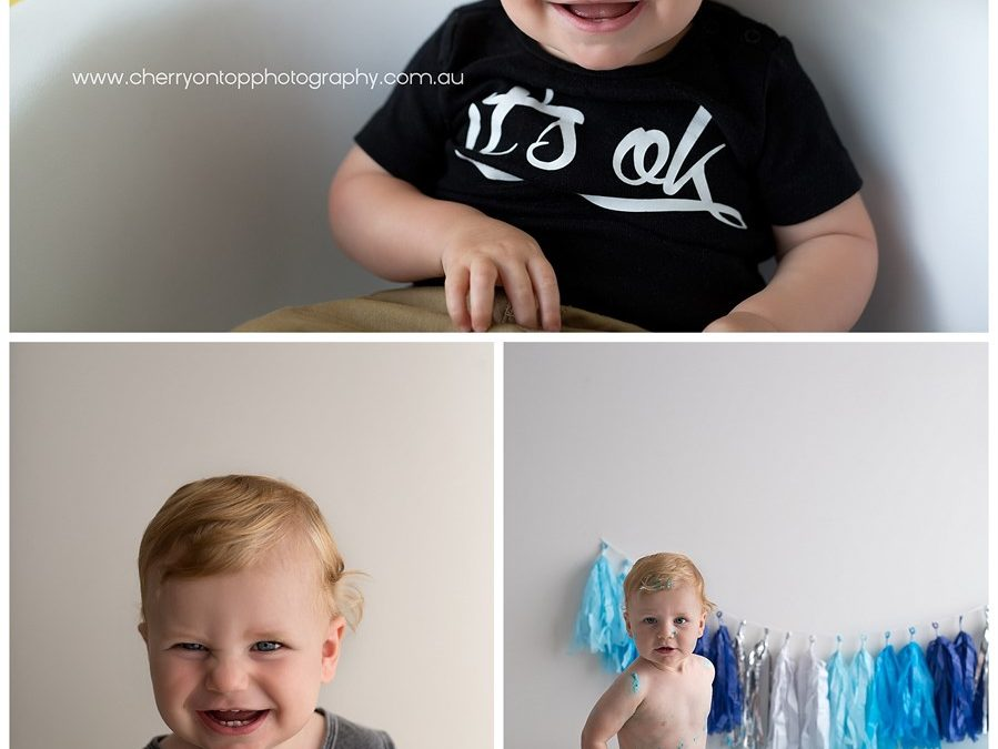 Finn | Sydney Cake Smash Photography