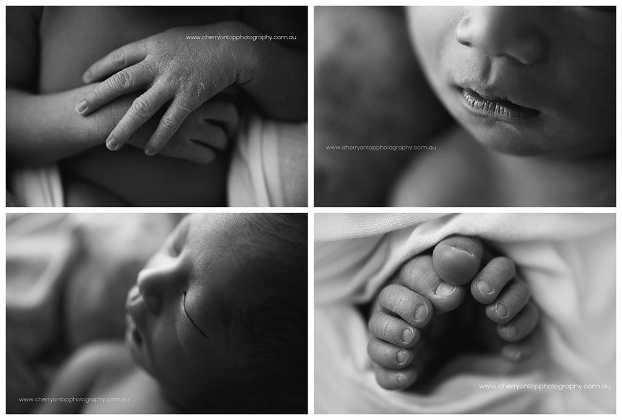 Caleb | Newborn Photography Hills District