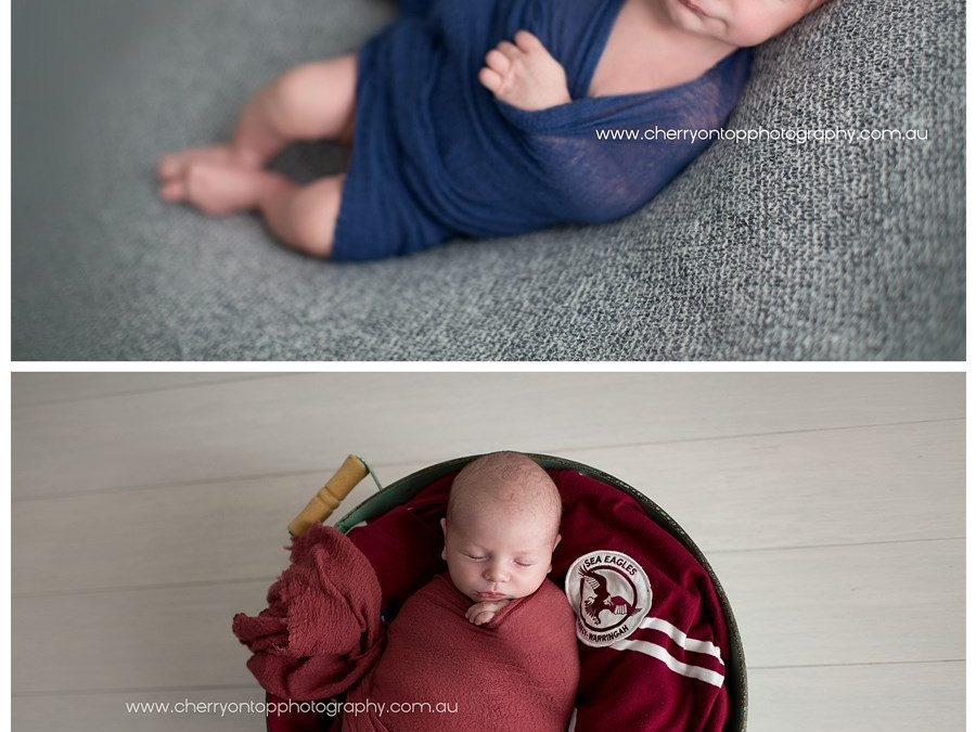 Benjamin | Hills Newborn Photography