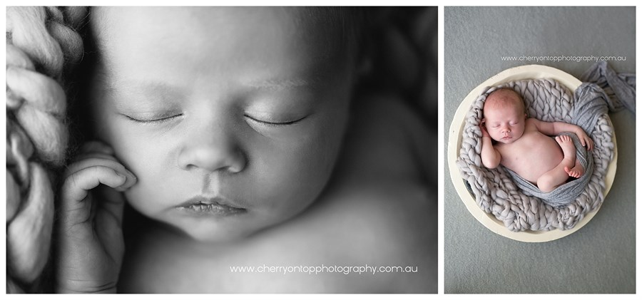 Sam | Hills District Newborn Photography