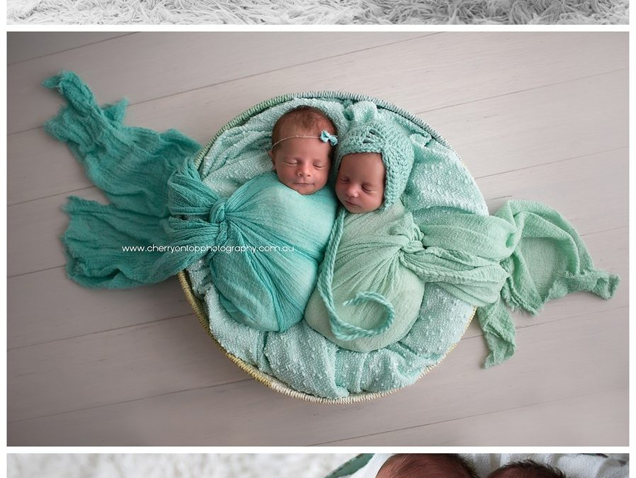 Lyla & Zara | Newborn Photography Sydney