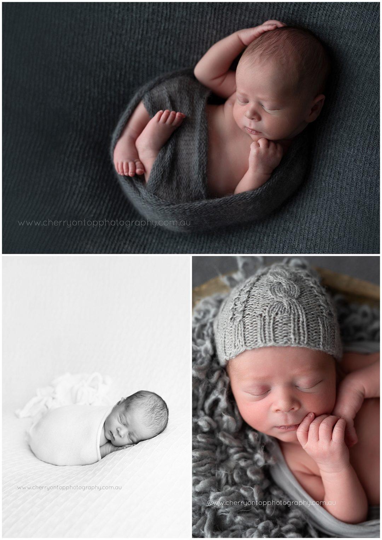 Sweet Baby Luke   Newborn photographer Sydney