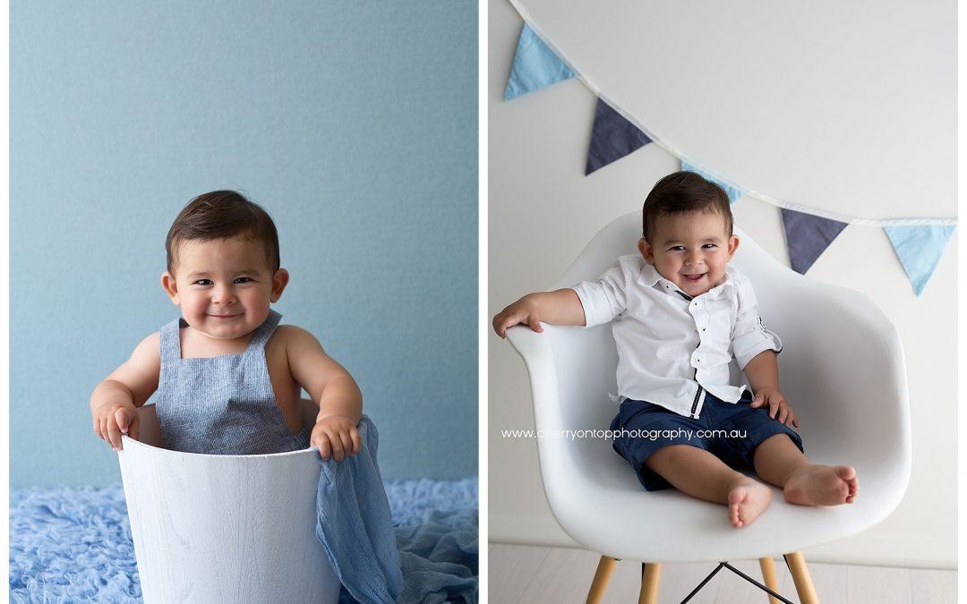 First Birthday Cake Smash Sydney | Baby Rafa