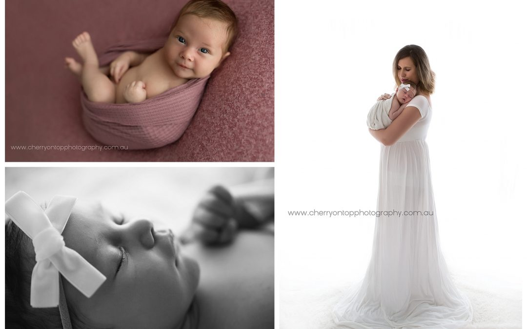 Newborn Baby Photography Sydney Hills District | Introducing Allora