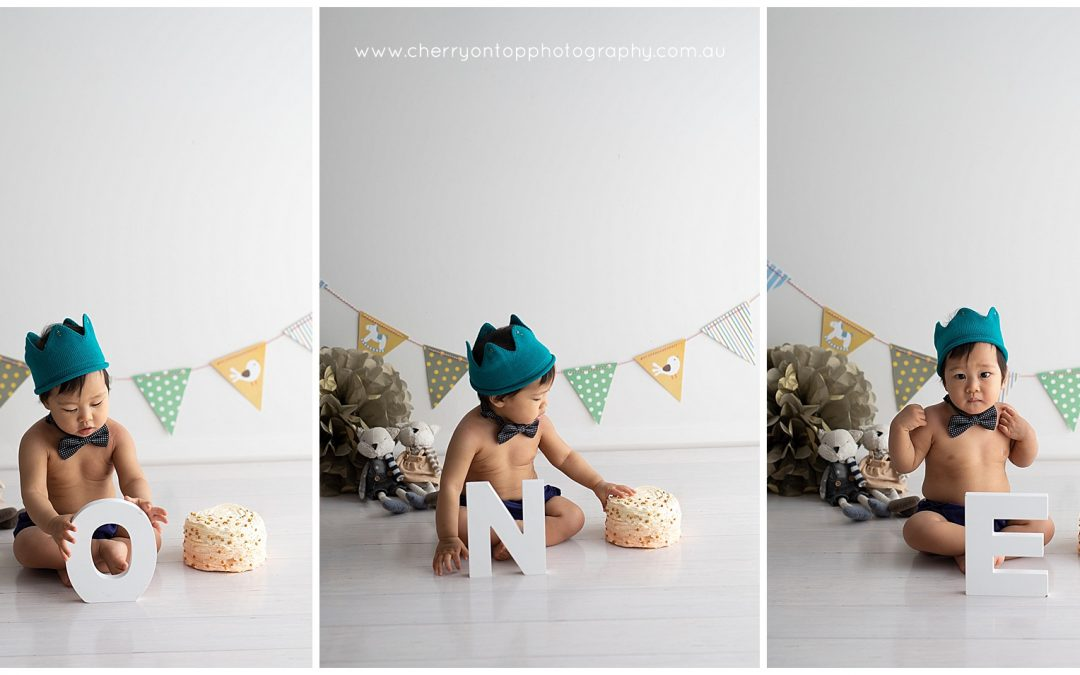 Tobias | Cake Smash Photography Sydney