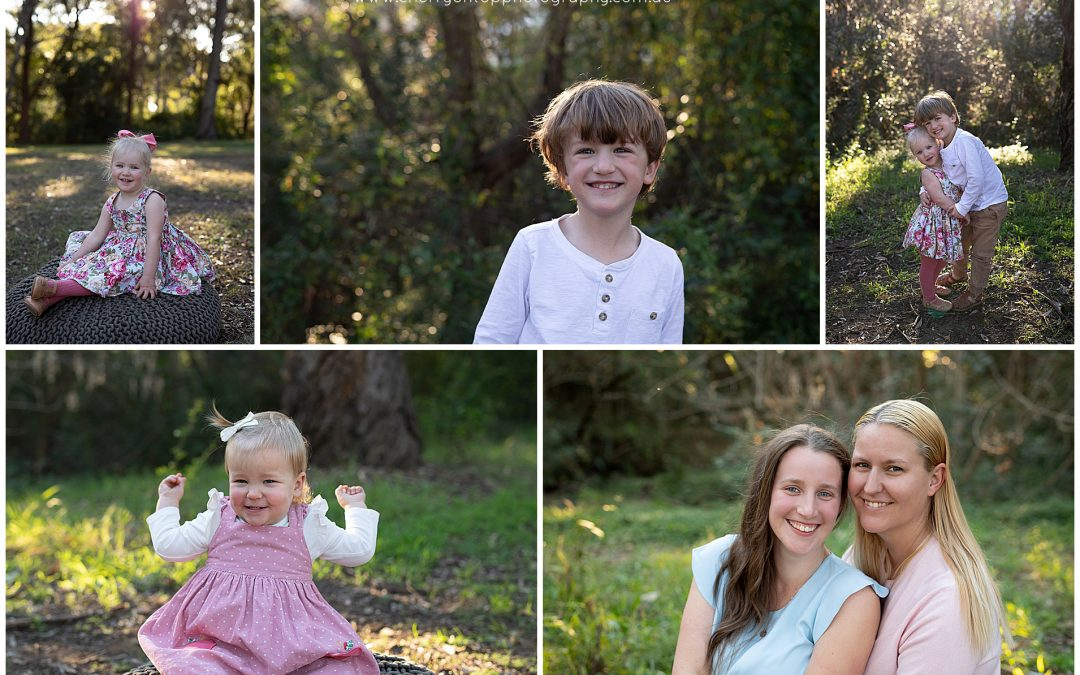 Family Outdoor Session | Sunset Photography Sydney