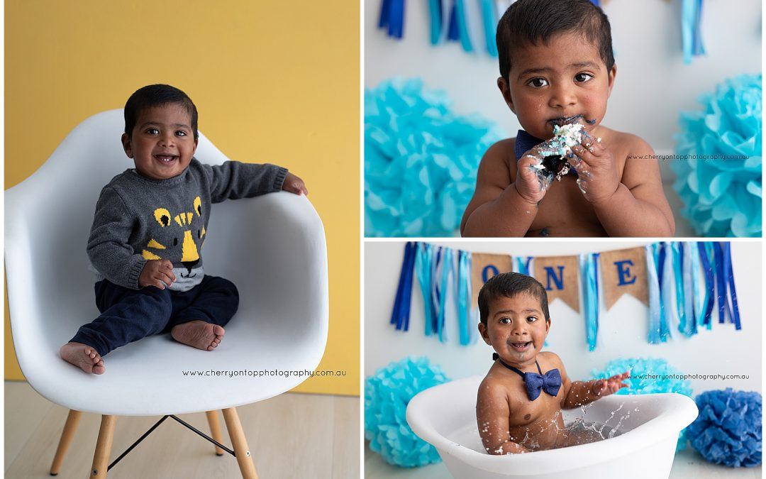 Sameer | Cake Smash Photography
