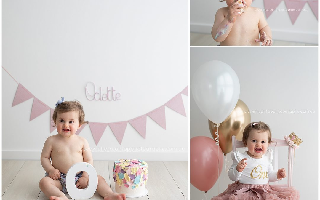 Odette | Cake Smash Photography Sydney