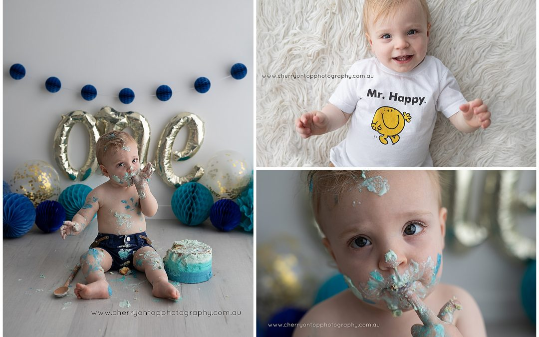 Jackson | First Birthday Cake Smash Sydney