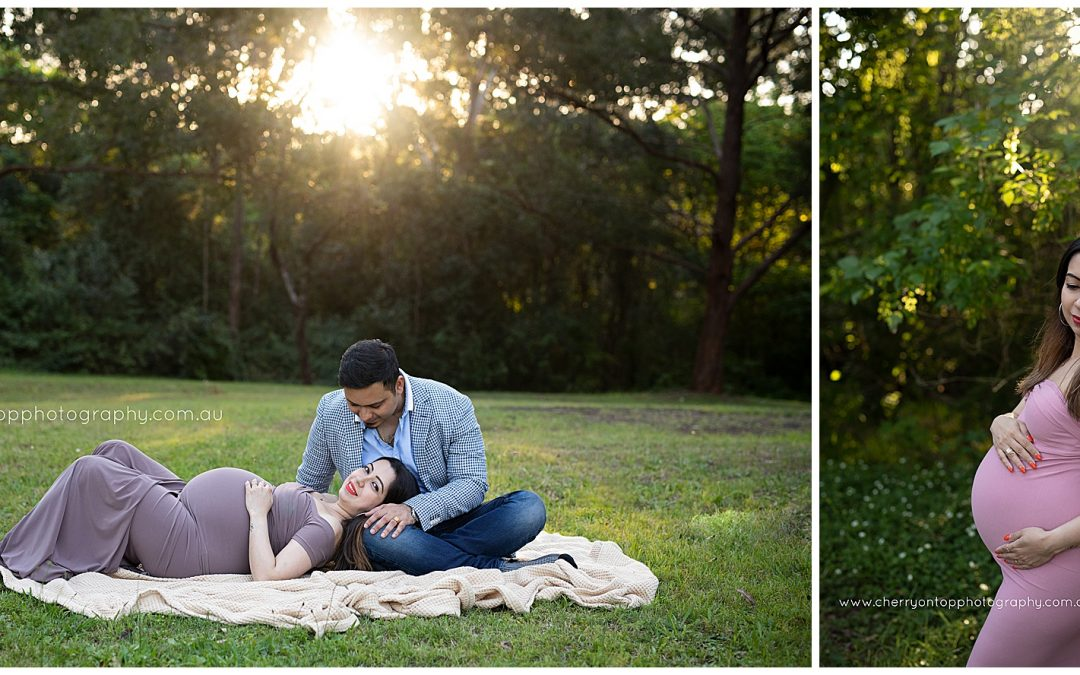 Gitil | Sunset Maternity Session