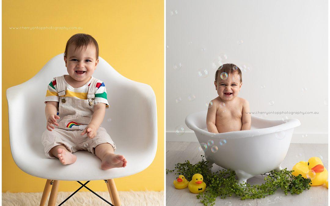 Ryan | First Birthday Bath Splash Sydney