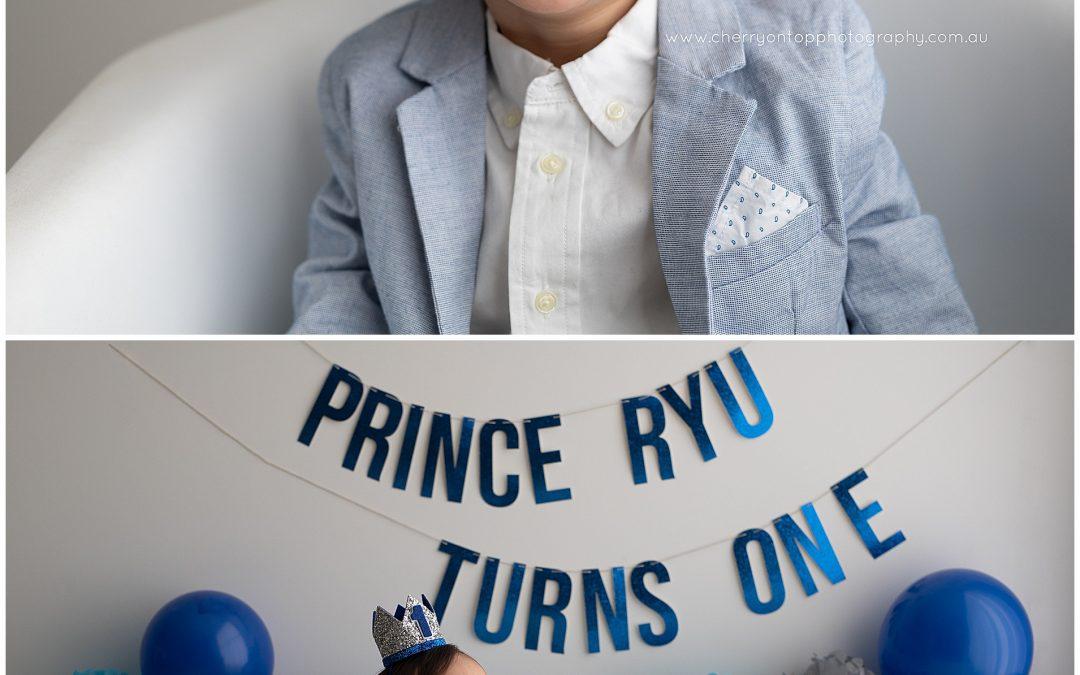 Ryu | First Birthday Cake Smash Sydney