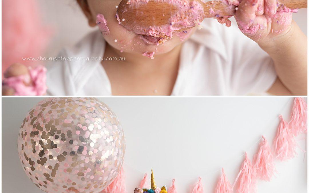 Samara | First Birthday Cake Smash Sydney