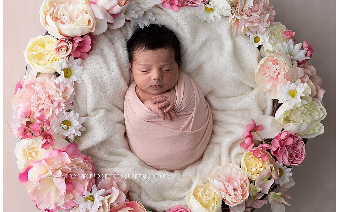 Floral Bubba | Newborn Photography Sydney