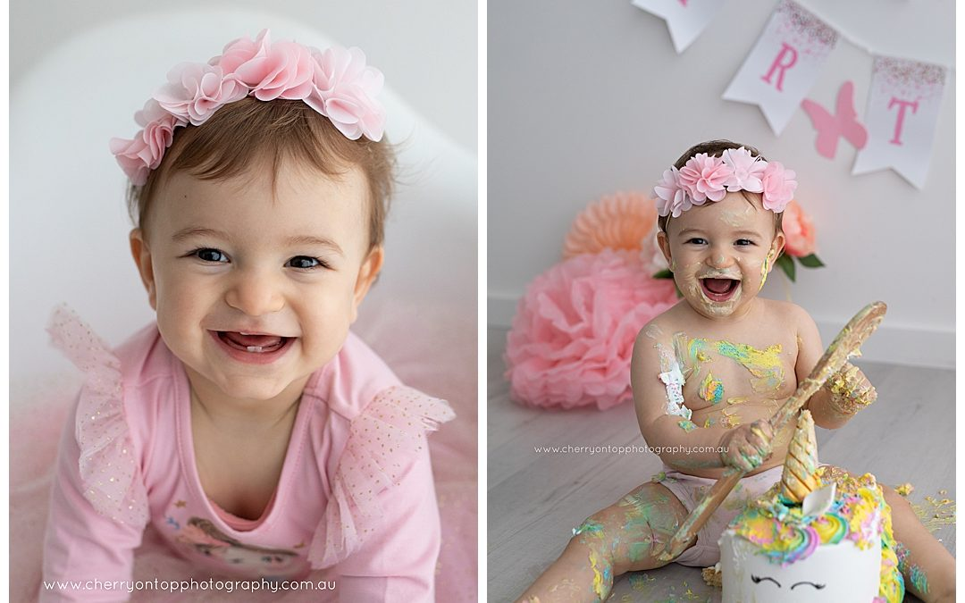 Lucy | First Birthday Photography